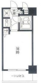 片倉町駅 徒歩10分2階Fの間取り画像
