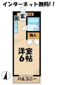 JKビル ジェイケイビル4階Fの間取り画像