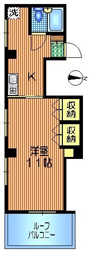 MAISON SHINO間取図