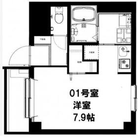 CASADIA Fujisaki5階Fの間取り画像