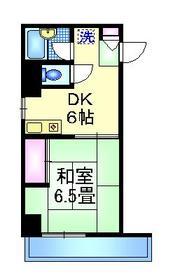 HSB町屋2階Fの間取り画像