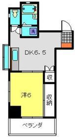 マキビル3階Fの間取り画像