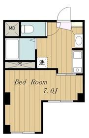 Villa Amour3階Fの間取り画像