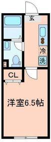 東戸塚駅 徒歩85分2階Fの間取り画像