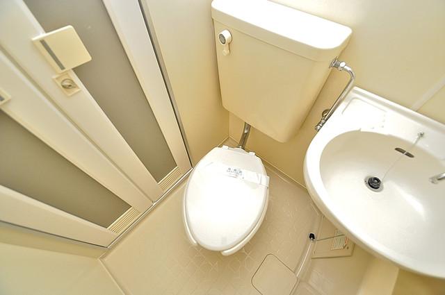 ハウスランド布施 お風呂・トイレが一緒なのでお部屋が広く使えますね。