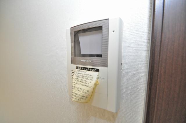 エストレヤ荒川 モニター付きインターフォンでセキュリティ対策もバッチリ。