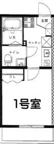 リーヴェルプレミオ横濱岸根1階Fの間取り画像