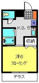 吉野町駅 徒歩9分1階Fの間取り画像