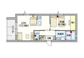 ヘーベルVillage 練馬ASAHIDAI2階Fの間取り画像