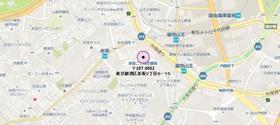 パークハビオ赤坂タワー案内図