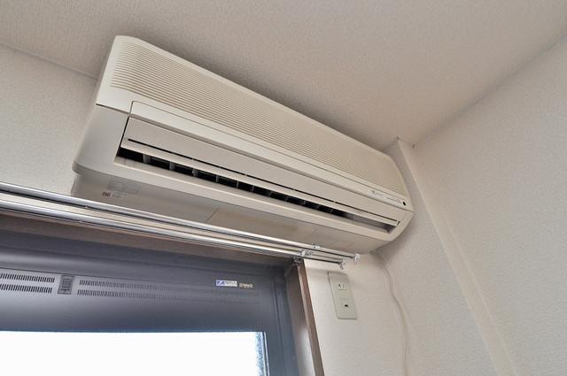 ラポルテじゅじゅ うれしいエアコン標準装備。快適な生活が送れそうです。