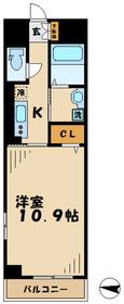 エテルノ4階Fの間取り画像
