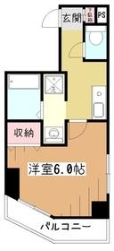 メゾンルミエール3階Fの間取り画像
