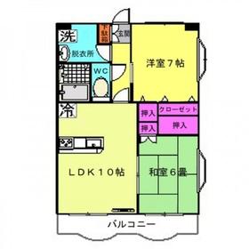 リヴェール4階Fの間取り画像