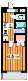 成増駅 徒歩13分3階Fの間取り画像