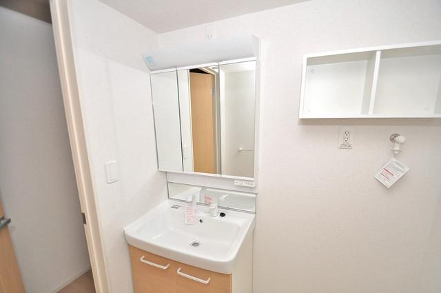 COCORO 豪華な洗面台はもちろんシャンプードレッサー完備です。