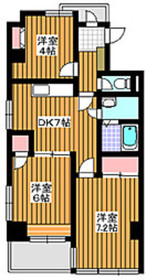 高島平駅 徒歩15分3階Fの間取り画像