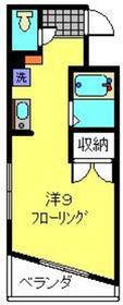 元住吉駅 徒歩6分5階Fの間取り画像
