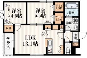 (仮称)矢野口メゾンA2階Fの間取り画像