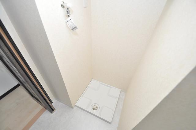 プレシオ小阪 室内に洗濯機置き場があれば雨の日でも安心ですね。
