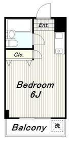 アーバンタカノ2階Fの間取り画像
