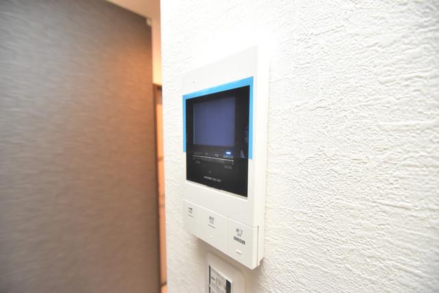 グロースコート弥刀 TVモニターホンは必須ですね。扉は誰か確認してから開けて下さいね