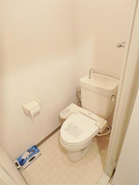 キャスケード28トイレ