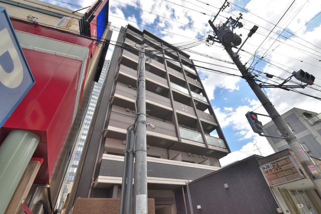 ソレイユ真田山 シックな色合いで落ち着いた雰囲気のマンションです。