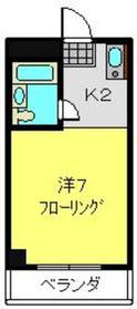 コートリーハウス横浜和田町3階Fの間取り画像