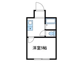 パンシオン相武台No.22階Fの間取り画像