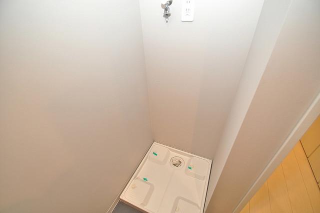 ドゥエマーニ楠根 室内に洗濯機置き場があれば雨の日でも安心ですね。