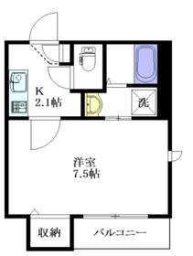 メゾン イーハトーブ4階Fの間取り画像