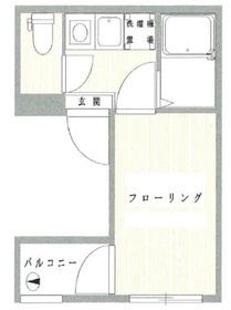 神田宇田川ビル4階Fの間取り画像