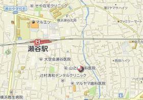 瀬谷駅 徒歩5分案内図