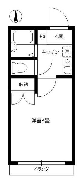 間取図(反転タイプ)