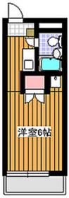 アーバンライフ赤塚2階Fの間取り画像