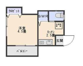 京急東神奈川駅 徒歩5分2階Fの間取り画像