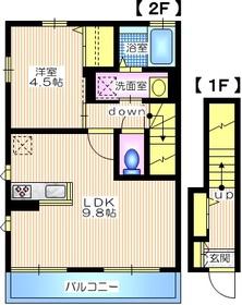SYLPHY(シルフィー)2階Fの間取り画像