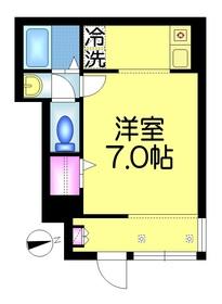 プレミール・イオ1階Fの間取り画像