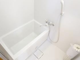 寛げる浴槽♪