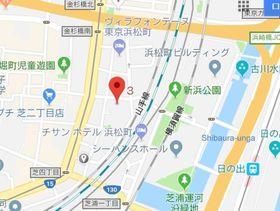 浜松町駅 徒歩8分案内図