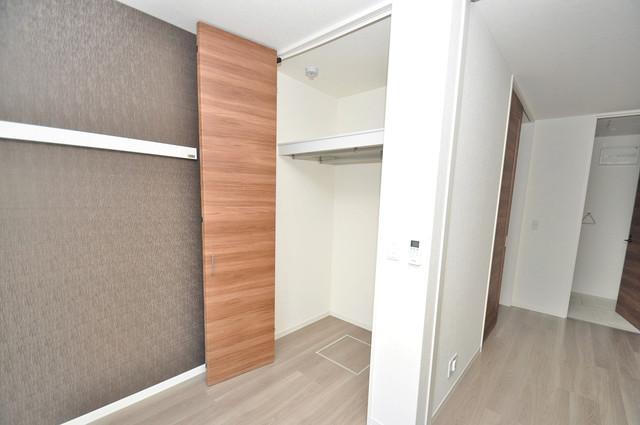 シャーメゾンプランタン もちろん収納スペースも確保。いたれりつくせりのお部屋です。