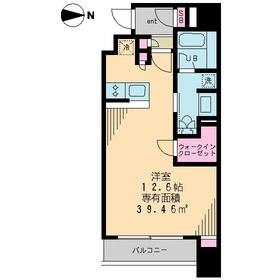 ガーラ・ステーション菊川10階Fの間取り画像