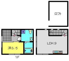 七島町戸建1階Fの間取り画像