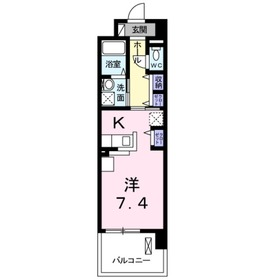 レギオン4階Fの間取り画像