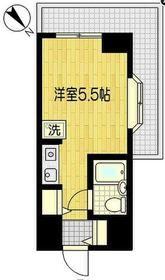 ライオンズマンション磯子第22階Fの間取り画像