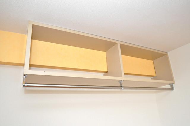 セントラルパーム もちろん収納スペースも確保。おかげでお部屋の中がスッキリ。