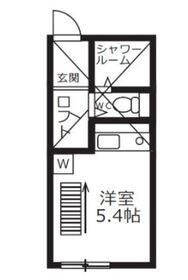 ブリステラス川崎堤根プライム1階Fの間取り画像