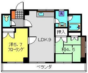 佐々木ビル3階Fの間取り画像