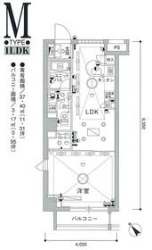 スカイコート茗荷谷壱番館3階Fの間取り画像